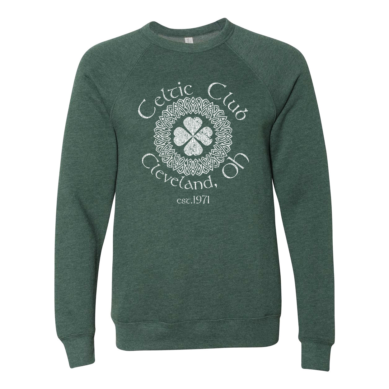 Celtic Club Cleveland Ohio Ultra Soft Sweatshirt - Clothe Ohio - Soft Ohio Shirts