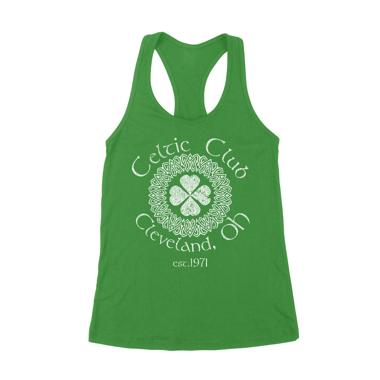 Celtic Club Cleveland Ohio Women's Tank - Clothe Ohio - Soft Ohio Shirts