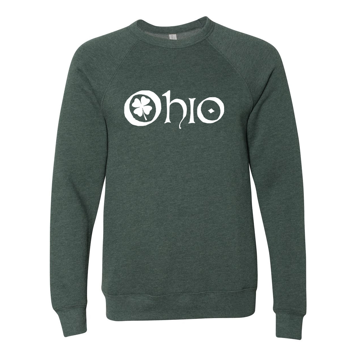 Ohio Clover Ultra Soft Sweatshirt - Clothe Ohio - Soft Ohio Shirts