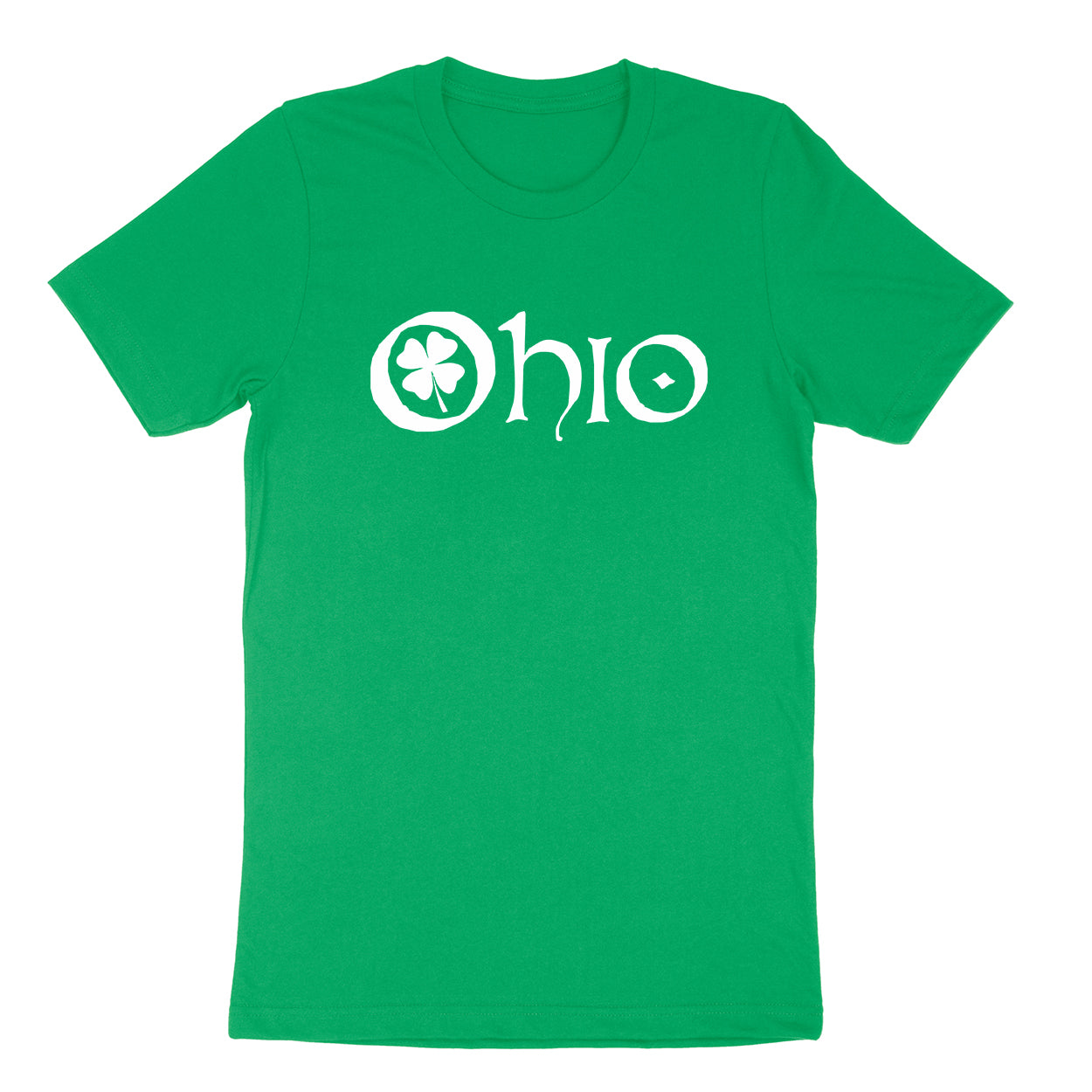 Ohio Clover Men's T-shirt - Clothe Ohio - Soft Ohio Shirts
