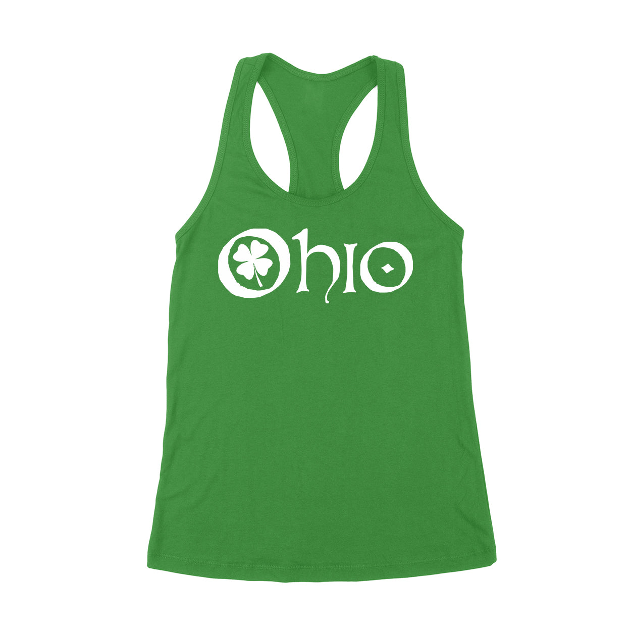 Ohio Clover Women's Tank - Clothe Ohio - Soft Ohio Shirts