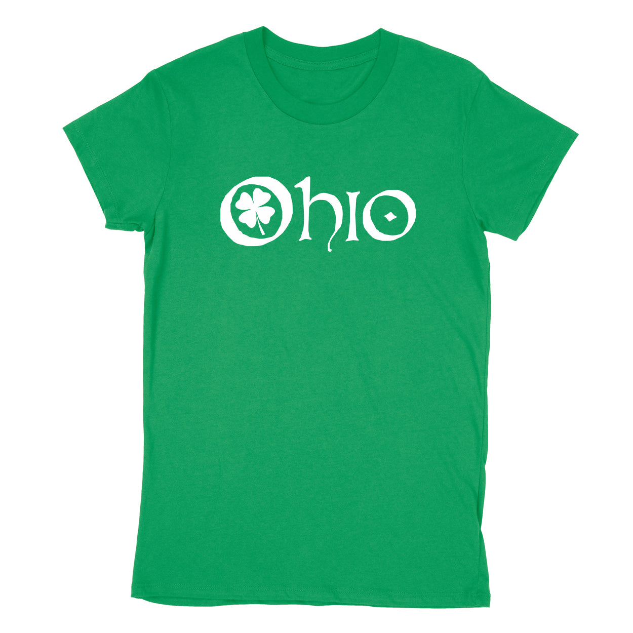 Ohio Clover Women's T-Shirt - Clothe Ohio - Soft Ohio Shirts