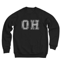 Oh Distressed Men's Ultra Soft Sweatshirt