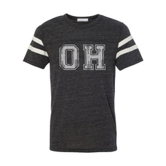 Oh Distressed Men's Football Jersey