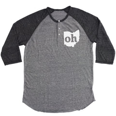 Oh Ohio Couples Outfit Button Henley