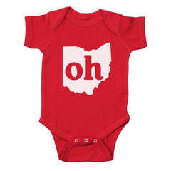 Oh Ohio Couples Outfit Baby One Piece