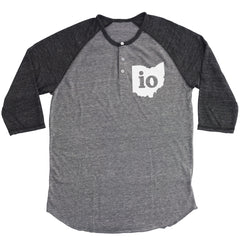 Io Ohio Couples Outfit Button Henley