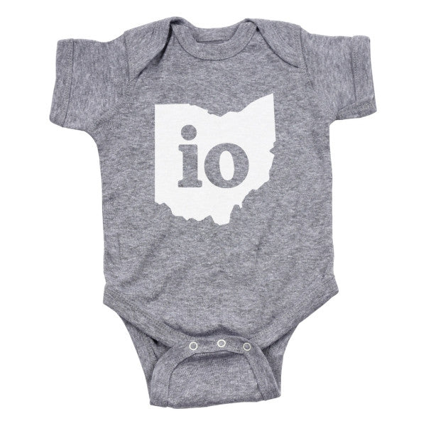 IO Ohio Couples Outfit Baby One Piece - Clothe Ohio - Soft Ohio Shirts