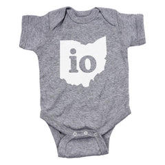 Io Ohio Couples Outfit Baby One Piece