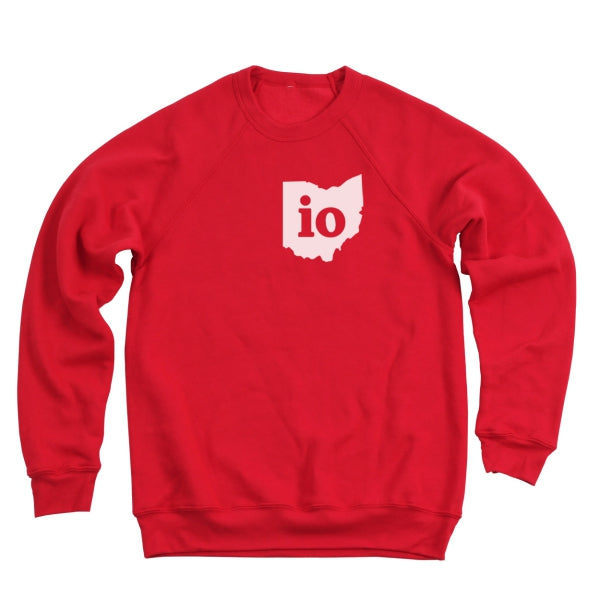 Io Ohio Couples Outfit Ultra Soft Sweatshirt - Clothe Ohio - Soft Ohio Shirts