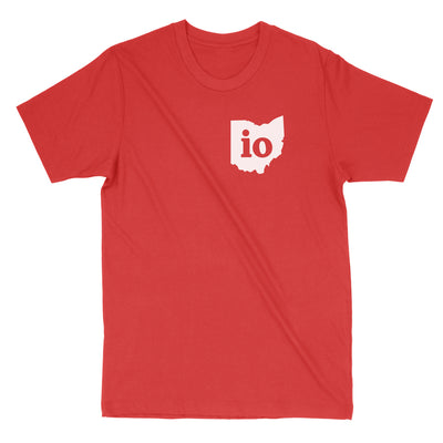 Io Ohio Couples Outfit Men's T-Shirt - Clothe Ohio - Soft Ohio Shirts