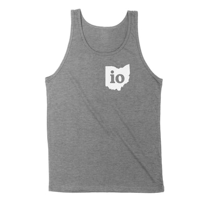 Io Ohio Couples Outfit Men's Unisex Tank - Clothe Ohio - Soft Ohio Shirts
