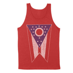 Ohio State Flag Big Men's Unisex Tank