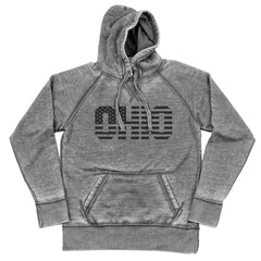 Ohio Stars And Stripes (Black) Shredded Hoodie