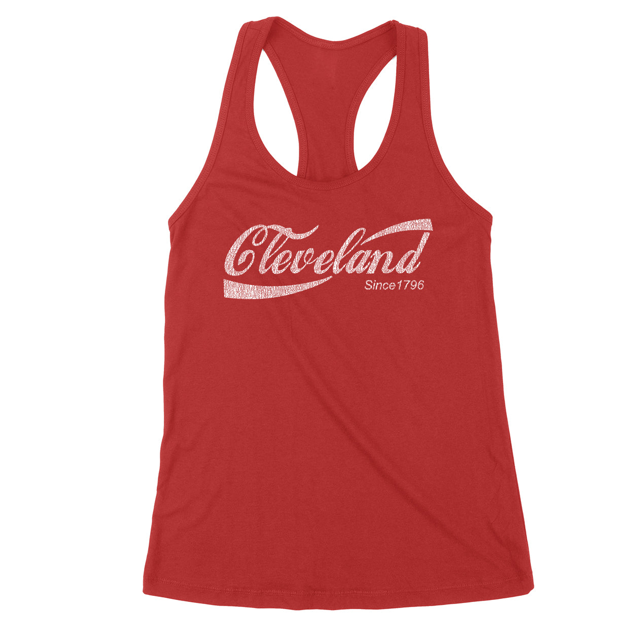 Retro Cleveland Drink Women's Tank - Clothe Ohio - Soft Ohio Shirts