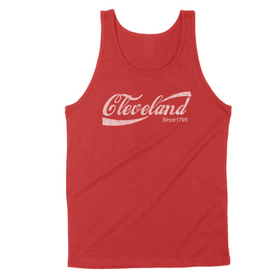 Retro Cleveland Drink Men's Unisex Tank - Clothe Ohio - Soft Ohio Shirts