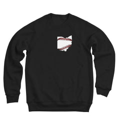 Ohio Baseball Stitching Men's Ultra Soft Sweatshirt