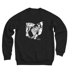 First State On The Moon Men's Ultra Soft Sweatshirt