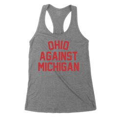 Ohio Against Michigan Women's Tank