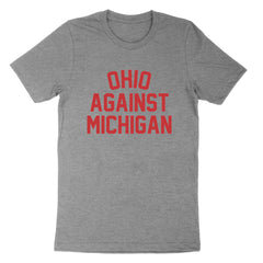 Ohio Against Michigan Youth T-Shirt