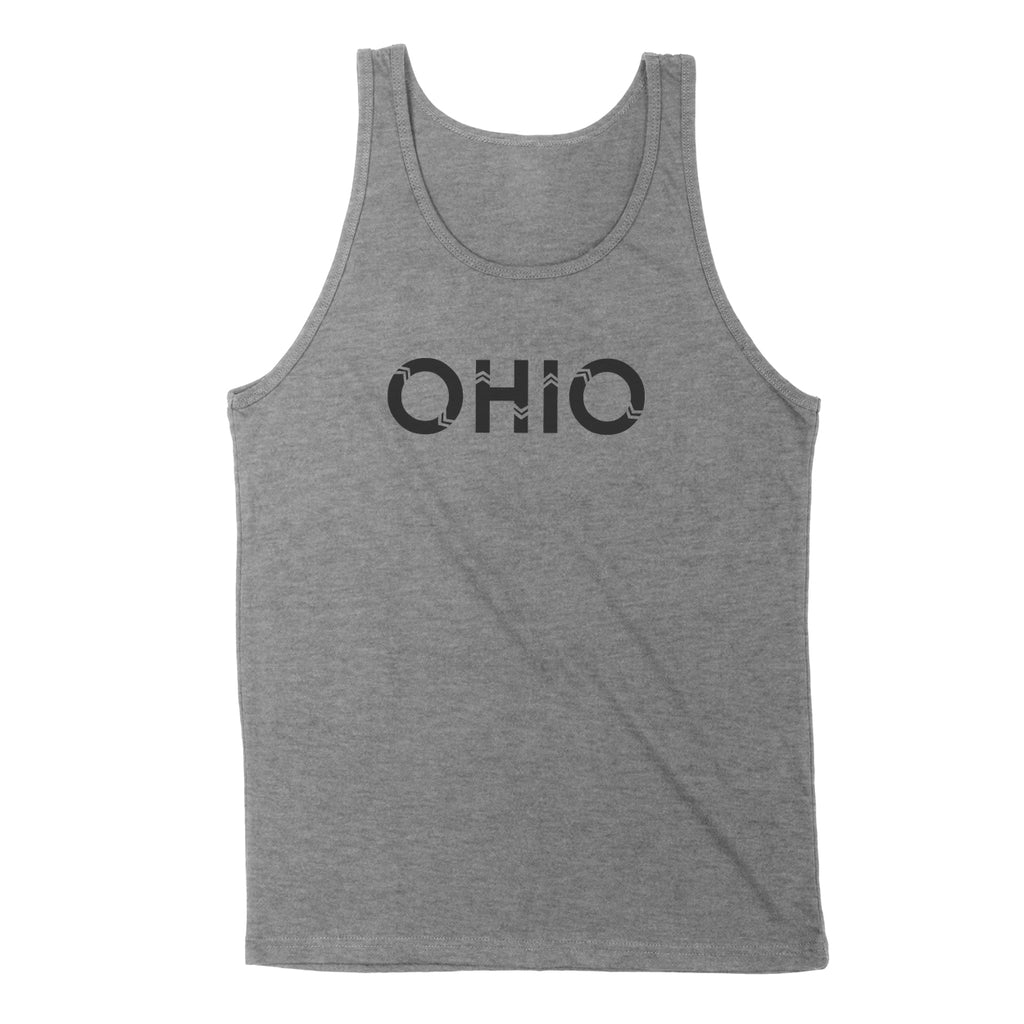 Ohio Native Lcl Black Men's Unisex Tank - Clothe Ohio - Soft Ohio Shirts