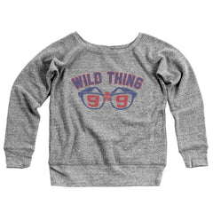Wild Thing 99 Women's Off-Shoulder Sweatshirt