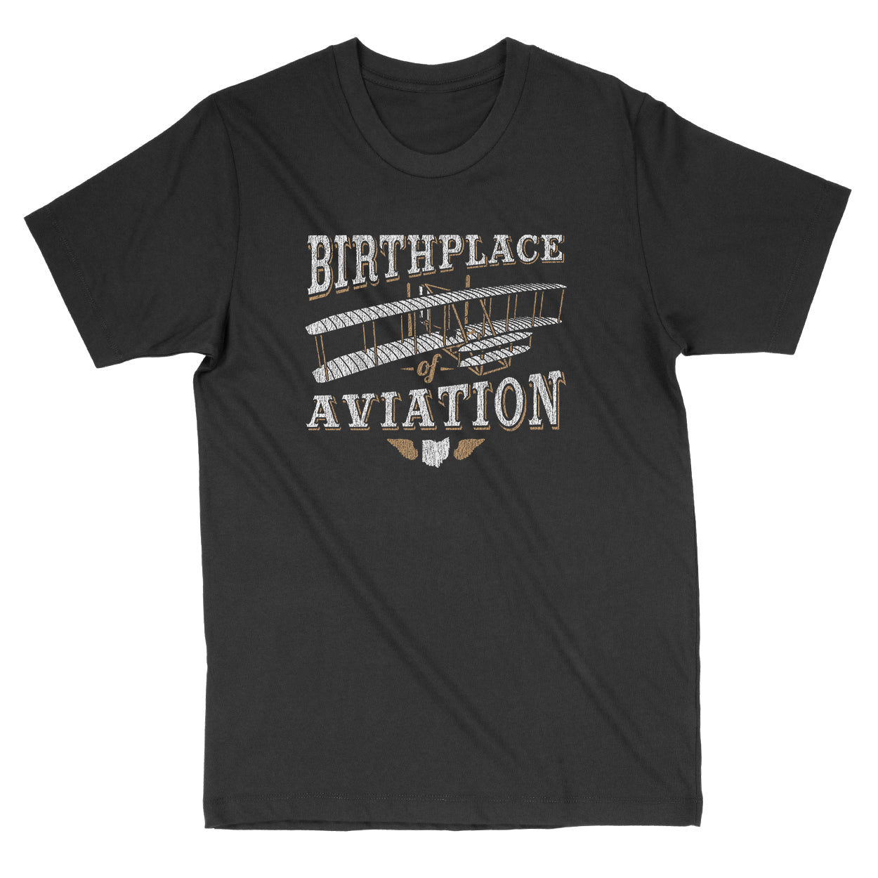 The Birthplace Of Aviation Ohio Men's T-Shirt - Clothe Ohio - Soft Ohio Shirts