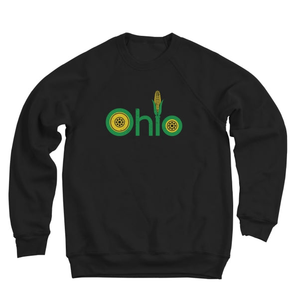 Farm Ohio Men's Ultra Soft Sweatshirt - Clothe Ohio - Soft Ohio Shirts