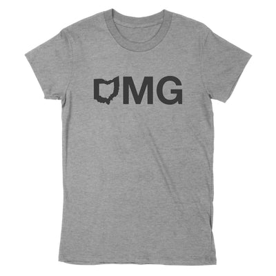 Omg Ohio Women's T-Shirt - Clothe Ohio - Soft Ohio Shirts
