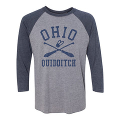 Ohio Quidditch Raglan T-Shirt