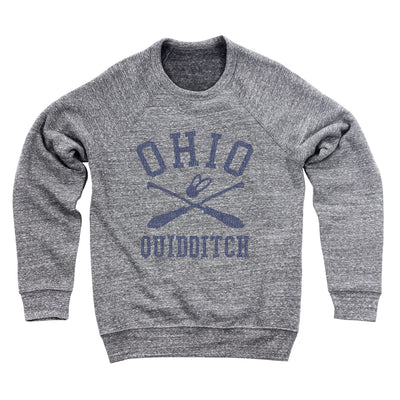 Ohio Quidditch Ultra Soft Sweatshirt - Clothe Ohio - Soft Ohio Shirts