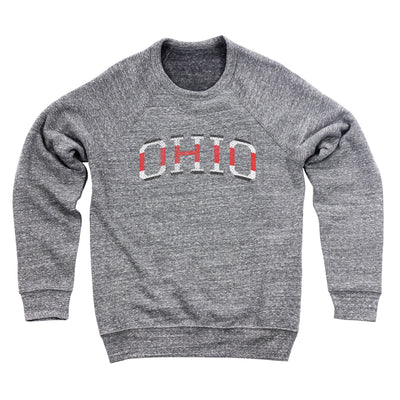 Ohio College Jersey Ultra Soft Sweatshirt - Clothe Ohio - Soft Ohio Shirts