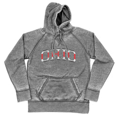 Ohio College Jersey Shredded Hoodie