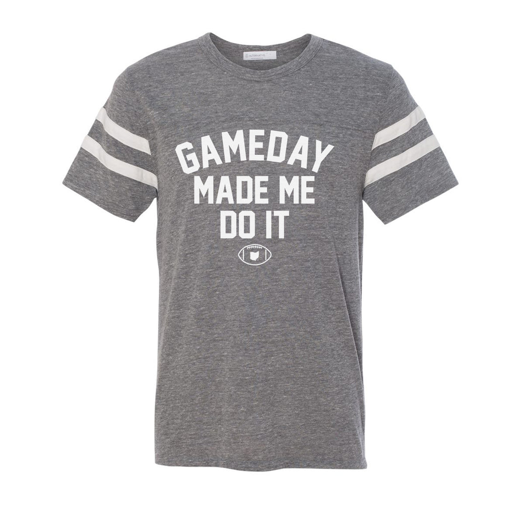 Gameday Made Me Do It Men's Football Jersey - Clothe Ohio - Soft Ohio Shirts