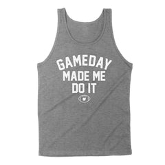 Gameday Made Me Do It Men's Unisex Tank