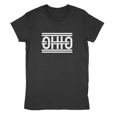 Ohio Tracks Women's T-Shirt - Clothe Ohio - Soft Ohio Shirts