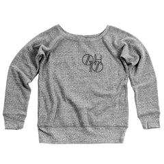 Ohio Pocket Lines Women's Off-Shoulder Sweatshirt