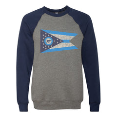 Ohio Cannon Flag Men's Ultra Soft Sweatshirt