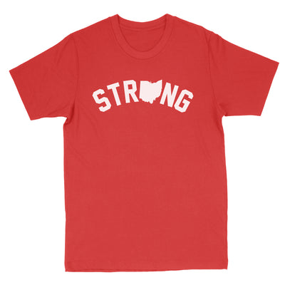 Strong Ohio Men's T-Shirt - Clothe Ohio - Soft Ohio Shirts