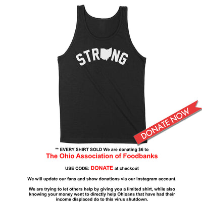 Strong Ohio Men's Unisex Tank - Clothe Ohio - Soft Ohio Shirts