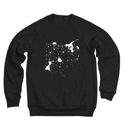Ohio From Space Ultra Soft Sweatshirt - Clothe Ohio - Soft Ohio Shirts