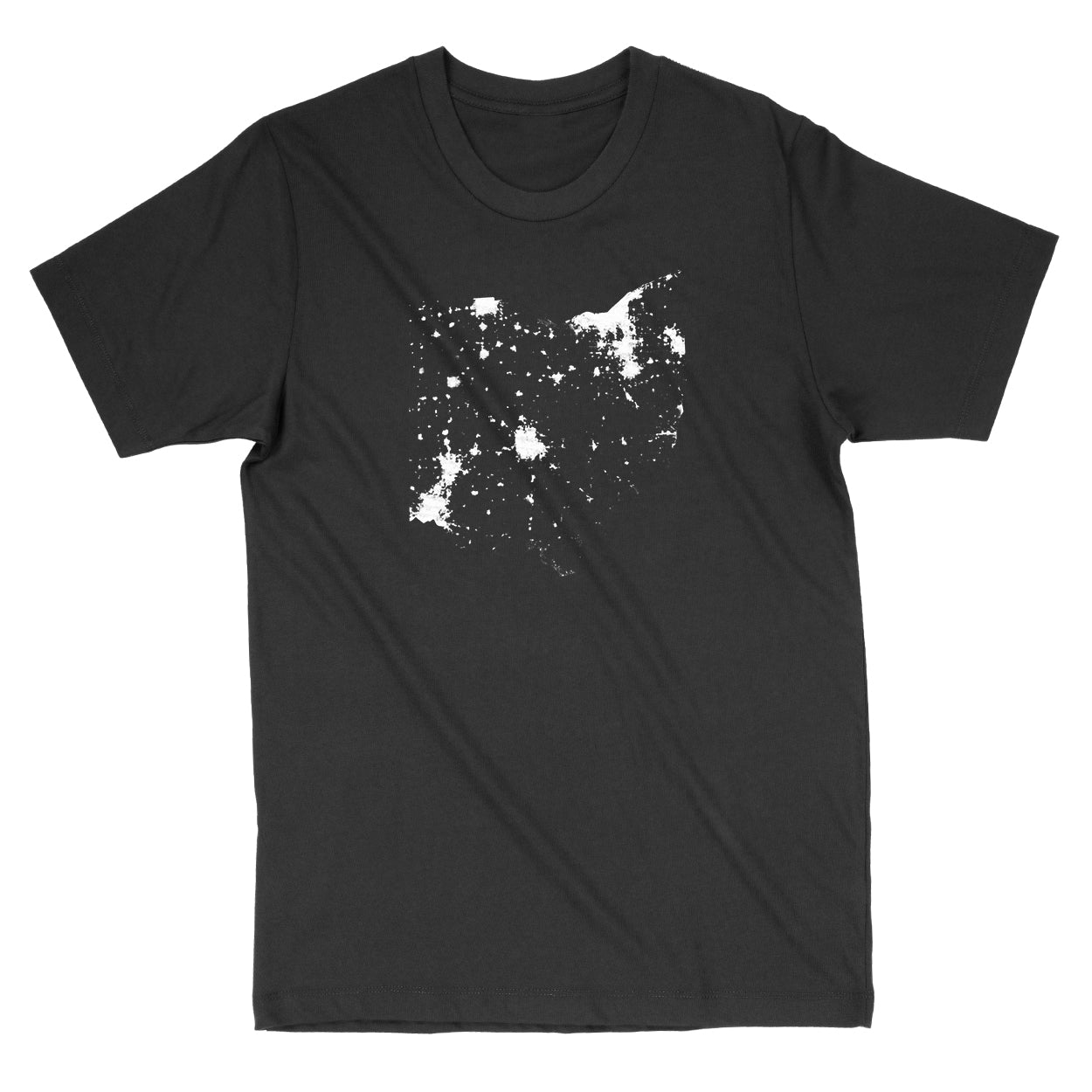 Ohio From Space Men's T-Shirt - Clothe Ohio - Soft Ohio Shirts