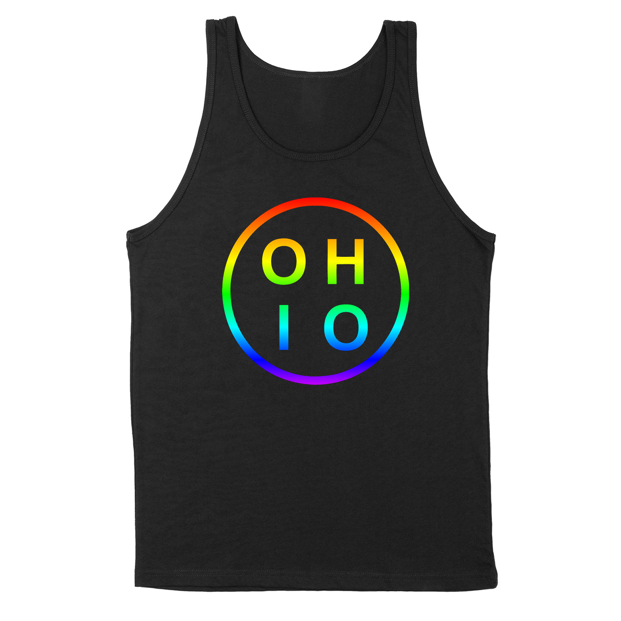 Pride Circle Ohio Men's Unisex Tank