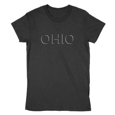 Ohio Eclipse Women's T-Shirt - Clothe Ohio - Soft Ohio Shirts