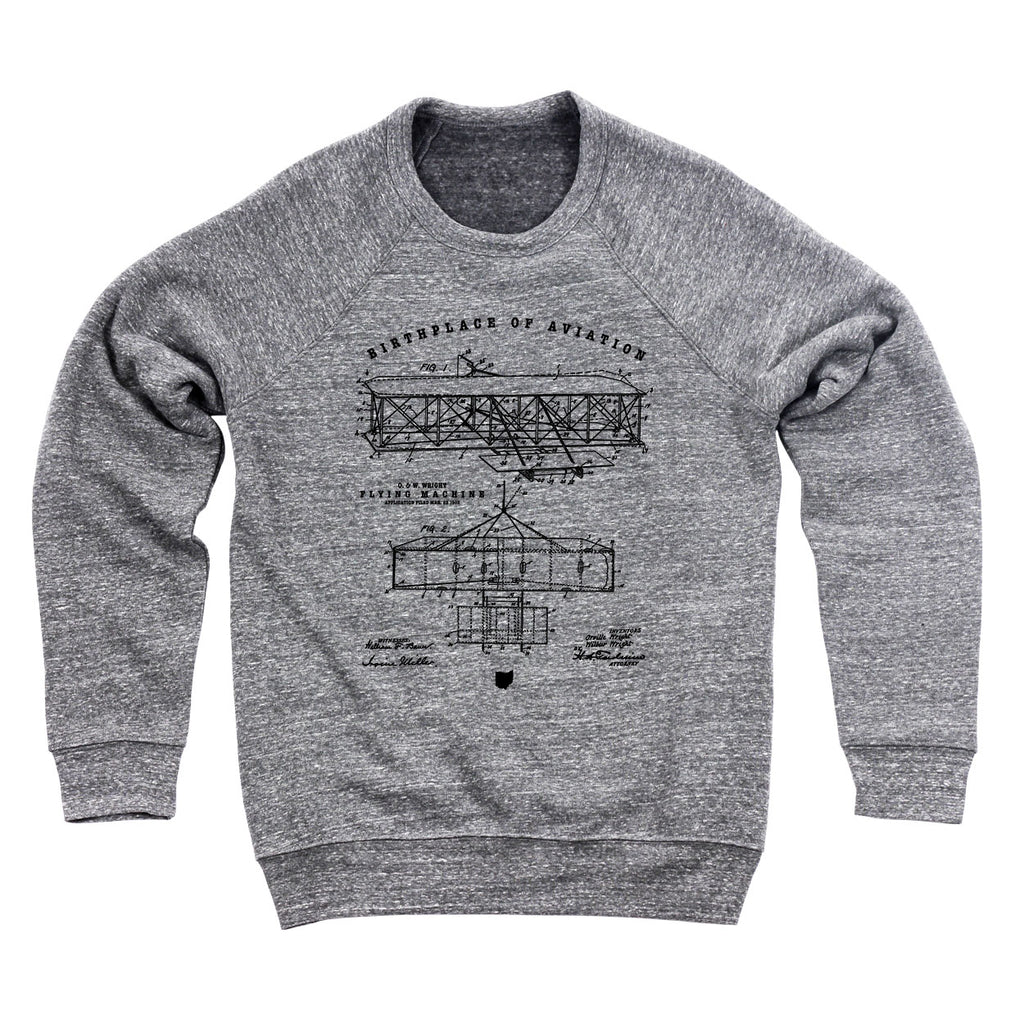 Aviation Patent Men's Ultra Soft Sweatshirt - Clothe Ohio - Soft Ohio Shirts