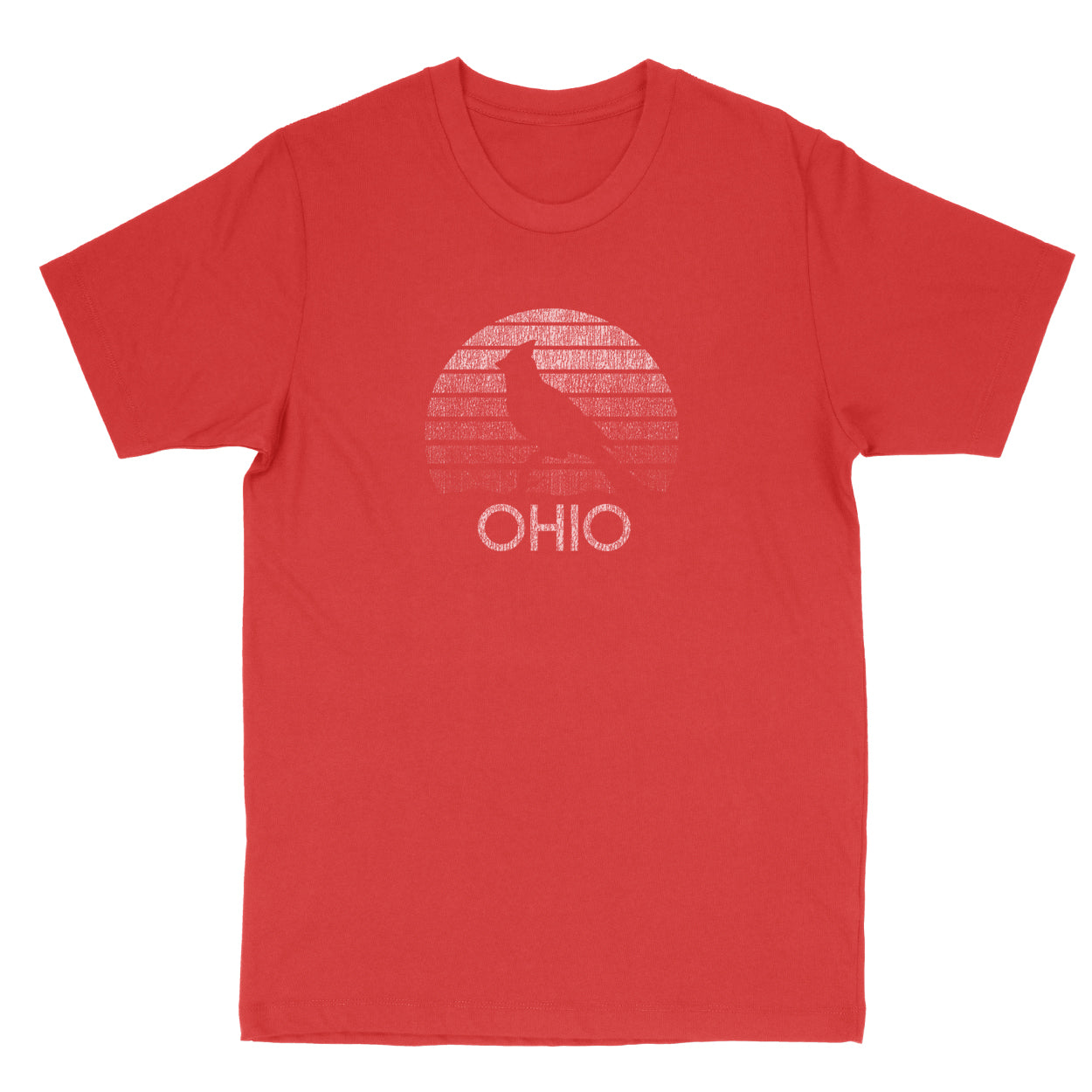 Ohio Sunset Men's T-Shirt - Clothe Ohio - Soft Ohio Shirts