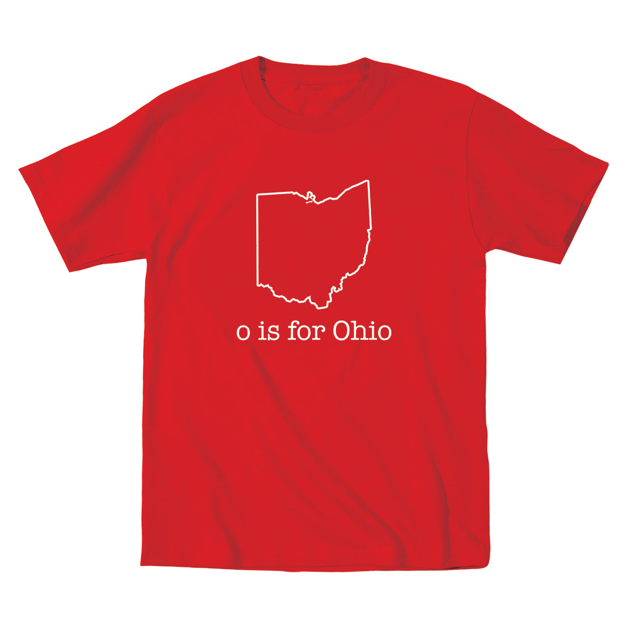 O Is For Ohio Ultra Soft Toddler T-Shirt