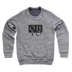 Ohio Boxed In Reverse Men's Ultra Soft Sweatshirt