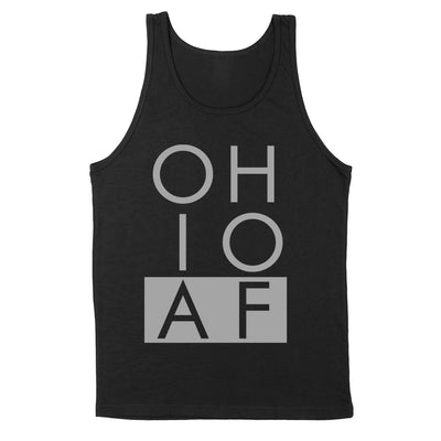 Ohio AF Men's Unisex Tank - Clothe Ohio - Soft Ohio Shirts