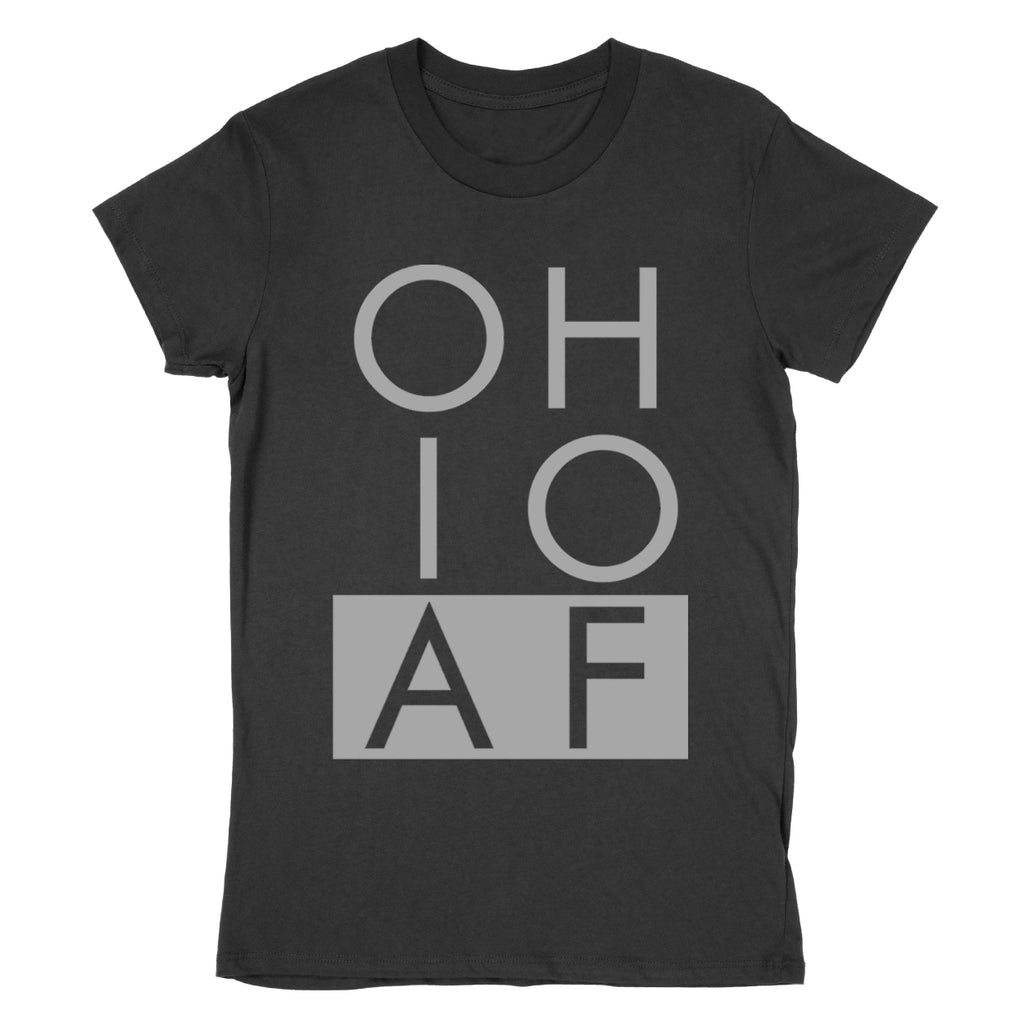 Ohio AF Women's T-Shirt - Clothe Ohio - Soft Ohio Shirts